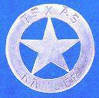 Authentic Early Texas Ranger Badge
