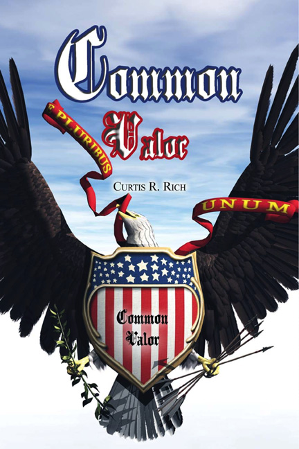 "Cover art from the novel ""Common Valor"""