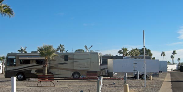Our Rig at Desert Edge