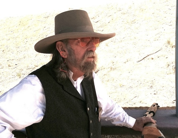 Judge Roy Bean waiting to shoot Wild Bunch
