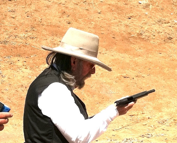Judge Roy Bean reloadfing his 1911
