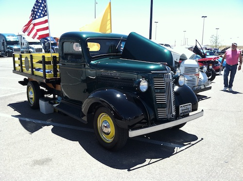 37 GMC T14 Stakebed truck