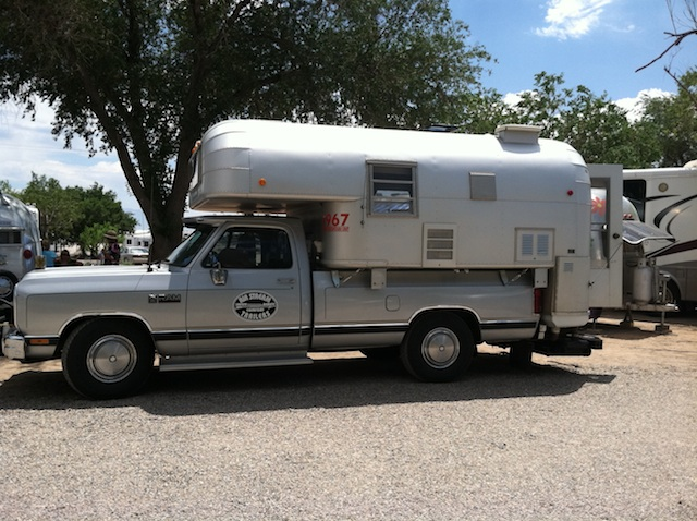 Airstream Pickup camper