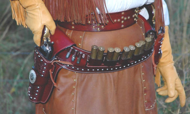 Getting Started in Cowboy Action Shooting, page 8, Leather Gear