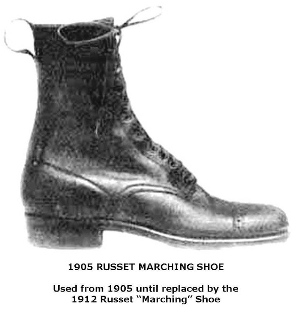 M1905 Russet Marching Shoe