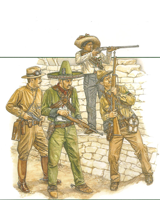 ... 1914 Many Villistas wore military uniforms some of which were made up from khaki cloth bought by their leader in the USA. This ex-Federal Army ...  sc 1 st  Curt Rich & Wild Bunch for Dummies Chapter 6 page 2