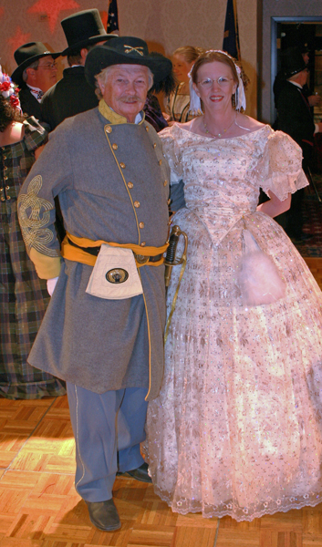 Colonel Baylor & The Redhead at the ball