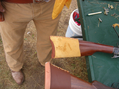 How to  make a '73 rifle buttstock fit like a carbine buttstock if you're long armed.