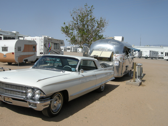 Caddy with Airstream
