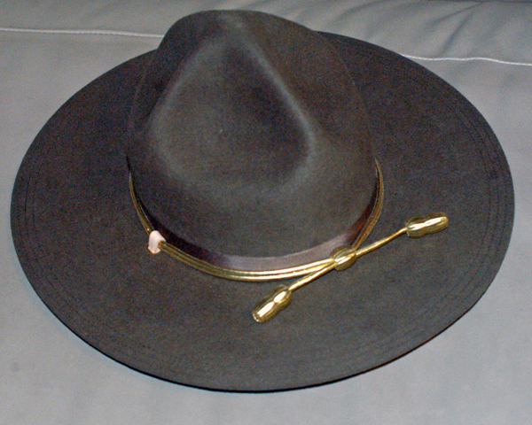 "Campaign Hat of the type worn during the ""Wild Bunch"" era"