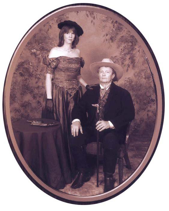 Captain Baylor and the Redhead, 1881
