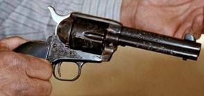 Judge Roy Bean's Engraved presentation Colt .45