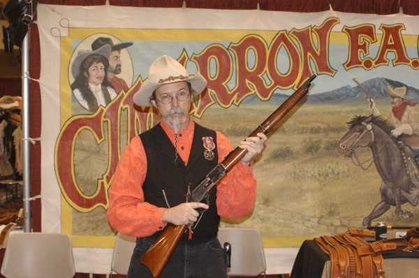 Abilene of Cimarron Firearms with Crossfire Trail 1876 Winchester