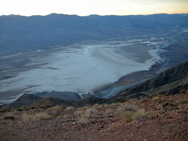 Death Valley from Dante's View-looks like an ocean