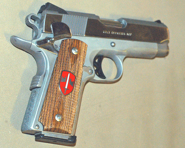 Lightweight Officer's ACP right side
