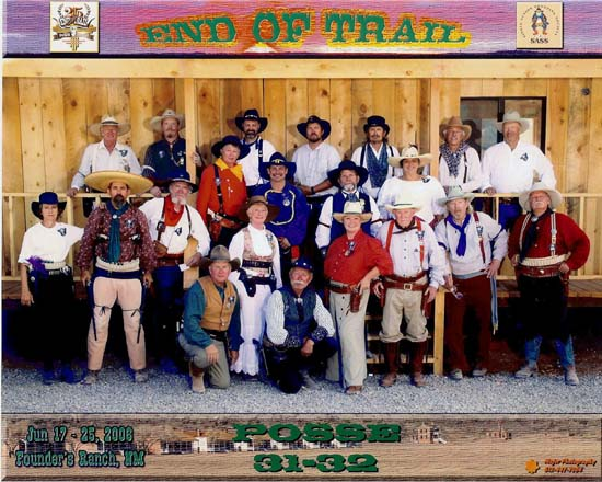 Posse 31-32 at End of Trail 2006