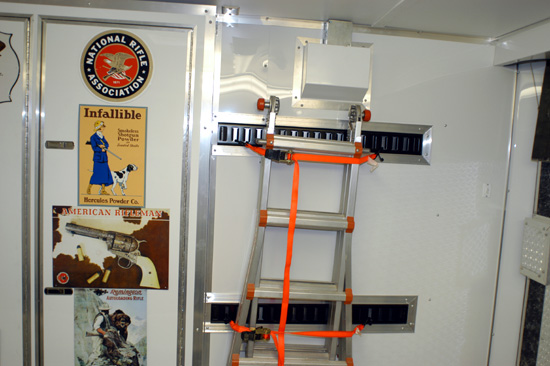 Little Giant Ladder storage