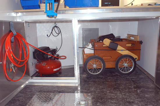 Gun Cart storage