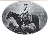 Sergeant James B. Gillett, Texas Rangers