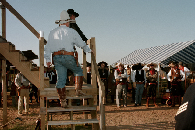 Shooters Meeting at Tejas Pistoleros near Eagle Lake, Texas