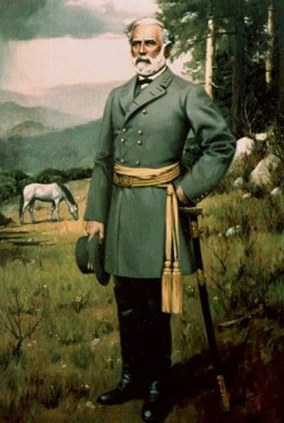 Robert E. Lee in full dress parade uniform