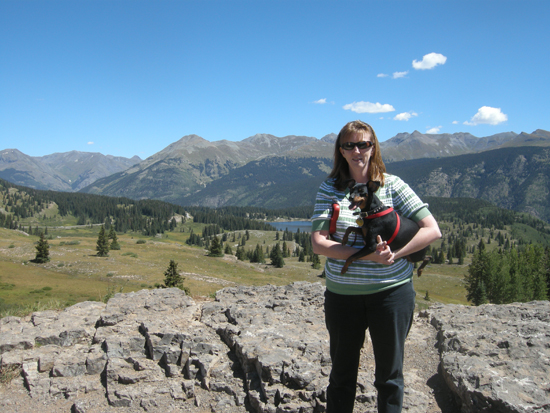 Rge Redhead and George S. Patton, Jr. at Molas Peak