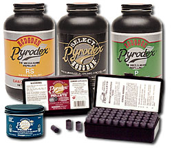 Pyrodex, the first black powder substitute
