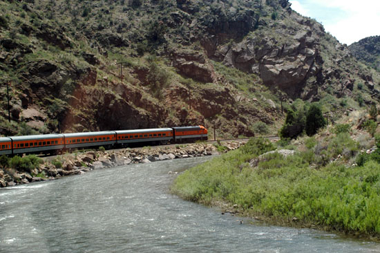 The Royal Gorge Train
