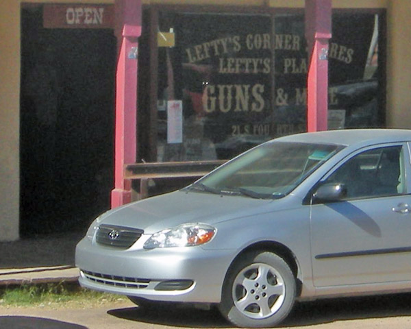 Spangenberger's gun shop became Lefty's